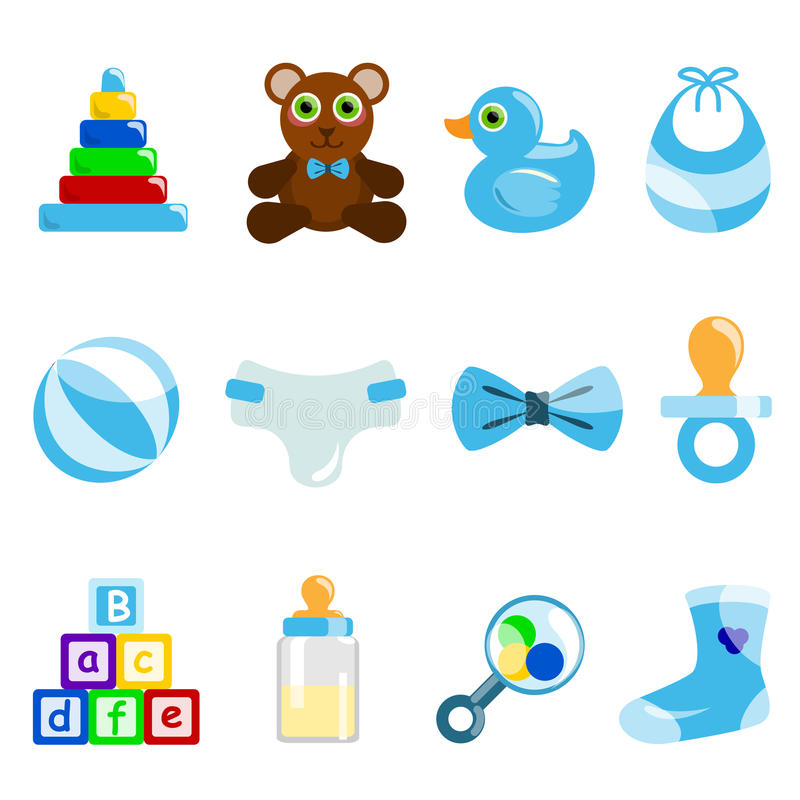 Download Boy baby object stock vector. Illustration of typesetting - 10208901