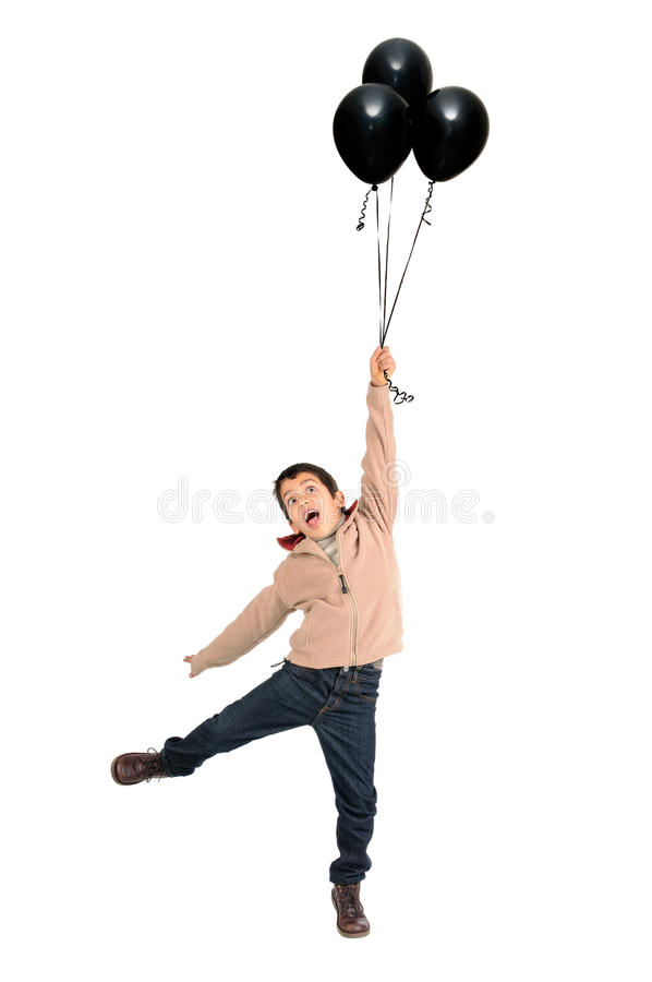 Download Boy With Balloons Stock Images - Image: 28564044