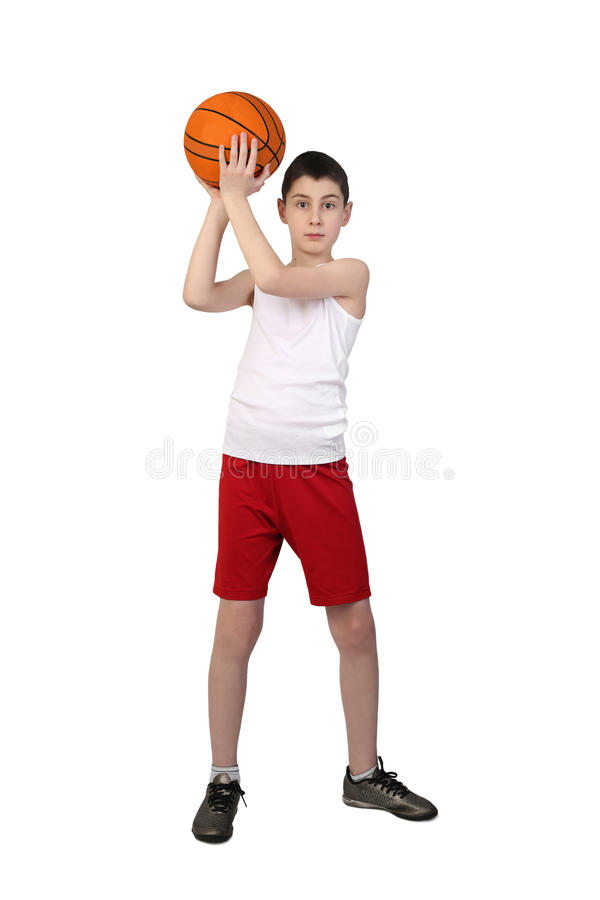 Free Boy Basketball Player Stock Photos - 85483083