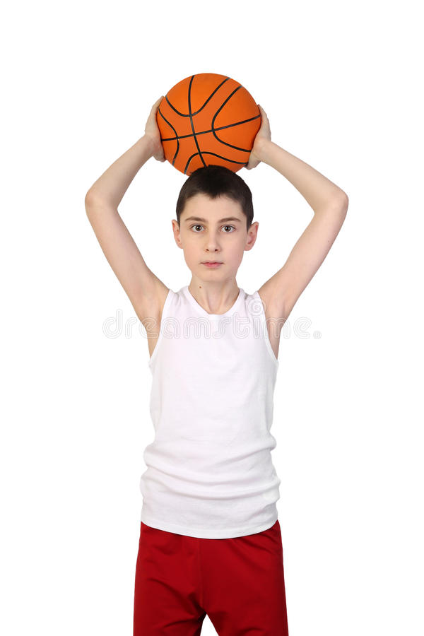 Free Boy Basketball Player Royalty Free Stock Image - 85483356