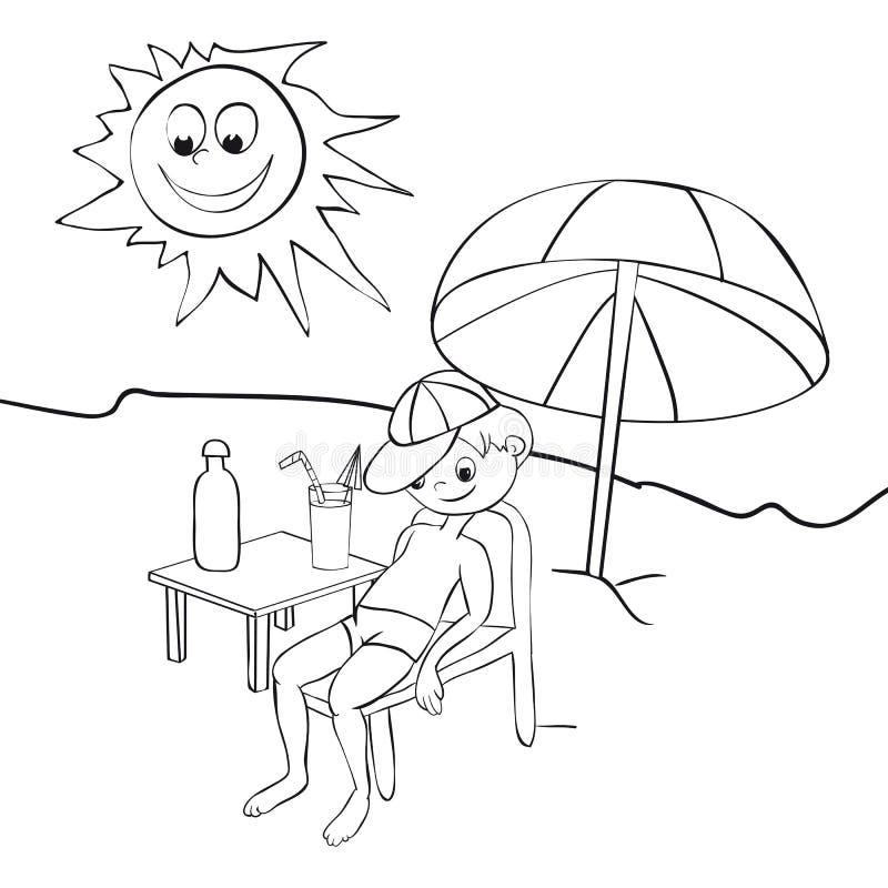 Download Boy On Beach Stock Photos - Image: 20874463
