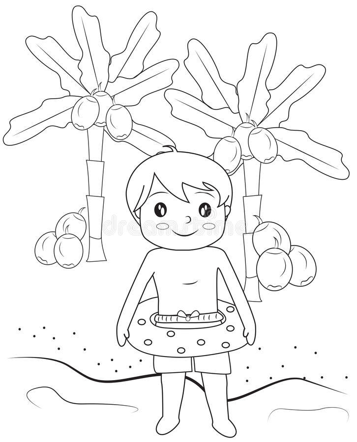 Beach Coloring Pages for Kids | Holden Beach Blog | 900x726