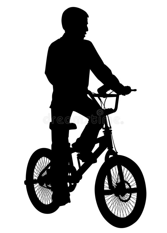 Download Boy with a bicycle stock image. Image of people, cycle - 31566301