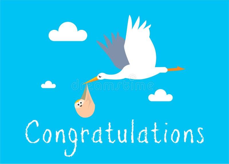 Download Boy Birth Illustration Stock Photo - Image: 18447610