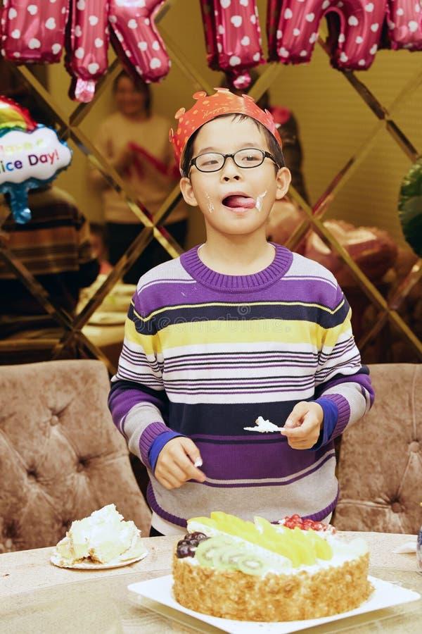 Free Boy Birthday Celebration. Stock Photography - 187539312