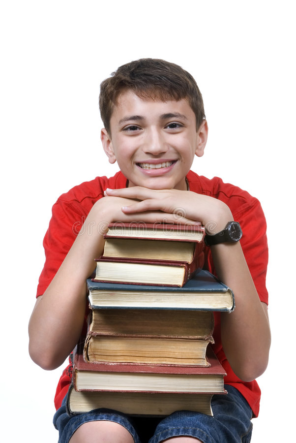 Download Boy With Books Stock Images - Image: 2439784