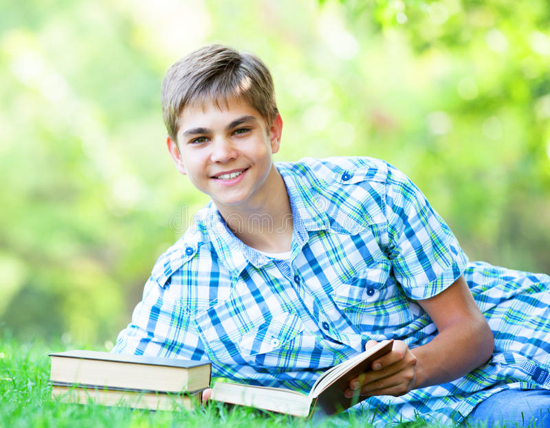 Download Boy with books stock photo. Image of child, schoolchild - 33685010