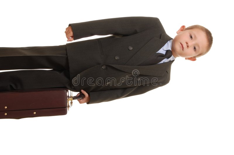 Free Boy Businessman 3 Royalty Free Stock Image - 1267096