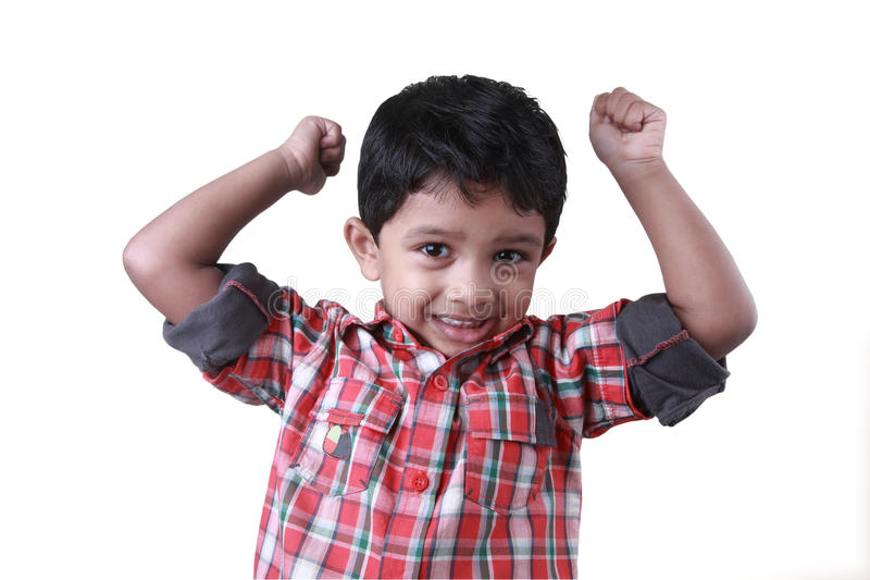Download Boy Cheering Up Stock Photography - Image: 16755772