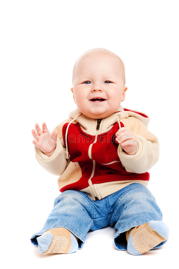 Download Boy clapping stock photo. Image of color, happiness, cheerful - 12201186