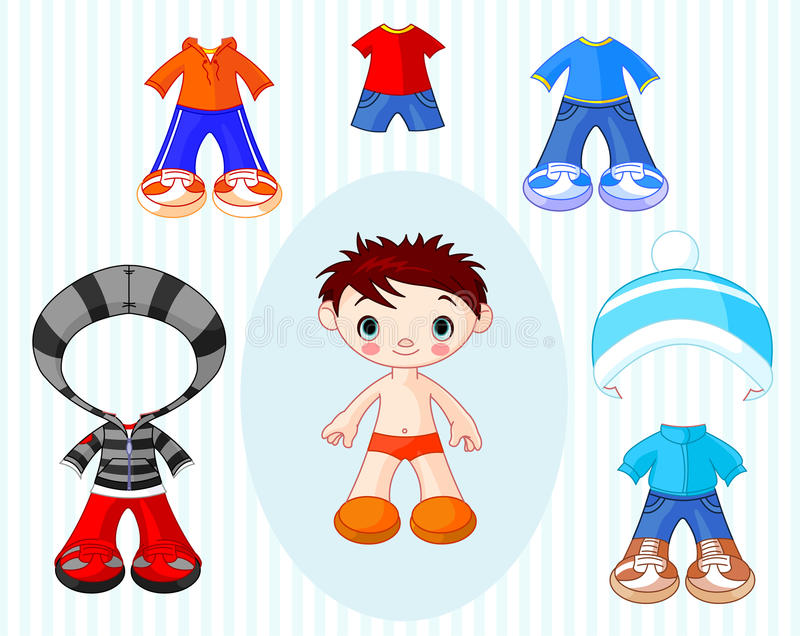 Download Boy With Clothes Stock Photos - Image: 23060473