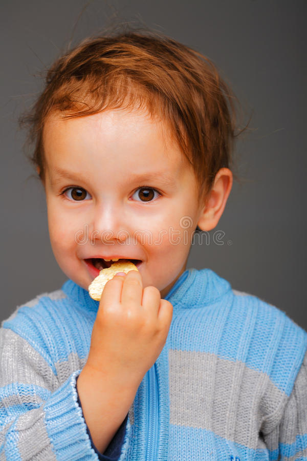 Download Boy With A Cookie Stock Images - Image: 10214014