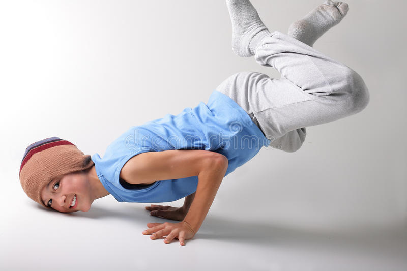 Boy and dance stock photos