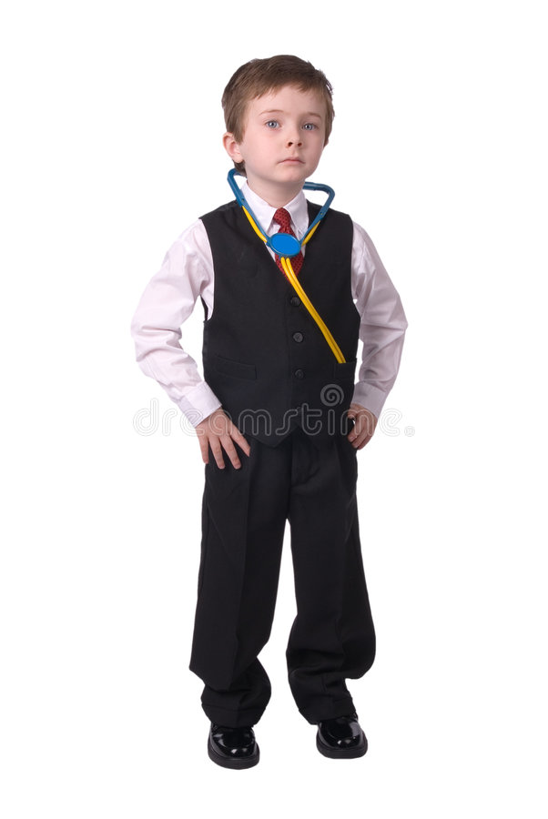 Download Boy Doctor stock photo. Image of smart, exam, business - 2032092