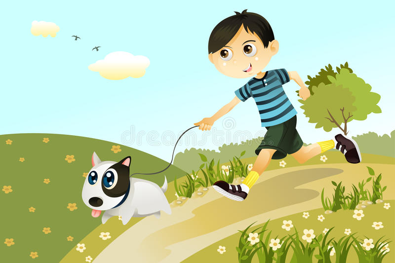 Download Boy And Dog Royalty Free Stock Images - Image: 19799129