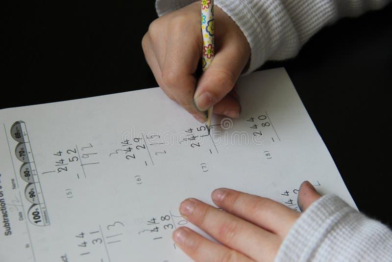 Download Boy Doing Homework Royalty Free Stock Photos - Image: 37951868