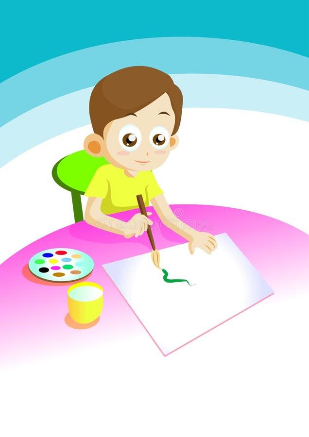 Free Boy Draw Stock Photo - 15852910