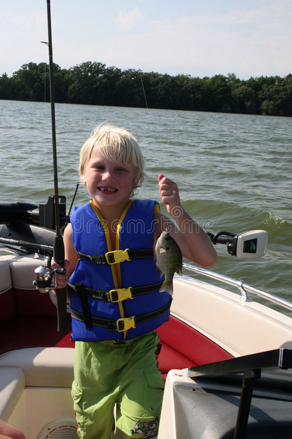 Free Boy Fishing Stock Image - 2956861