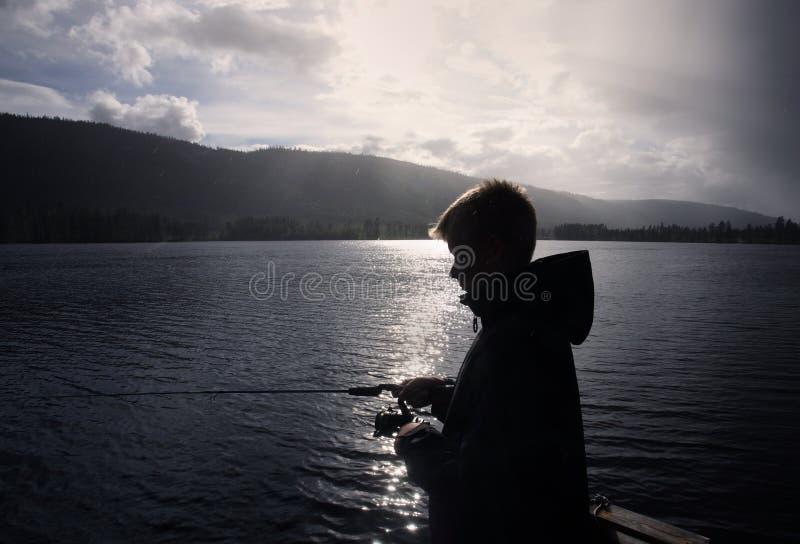 Boy Fishing a summer day