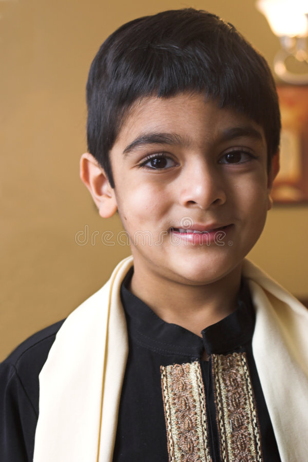 Download Boy In Formal Indian Attire Stock Photo - Image: 471452