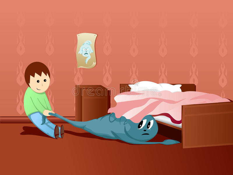 Download Boy And Ghost Stock Image - Image: 16996081