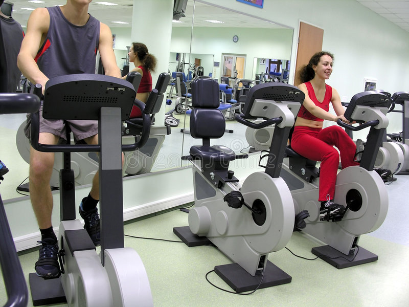 Download Boy And Girl In Health Club Stock Image - Image: 454975