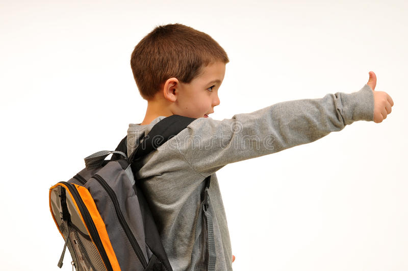 Download Boy Giving The Thumbs Up Royalty Free Stock Image - Image: 17744976