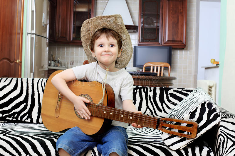 Download Boy with a guitar stock photo. Image of style, guitar - 14015068