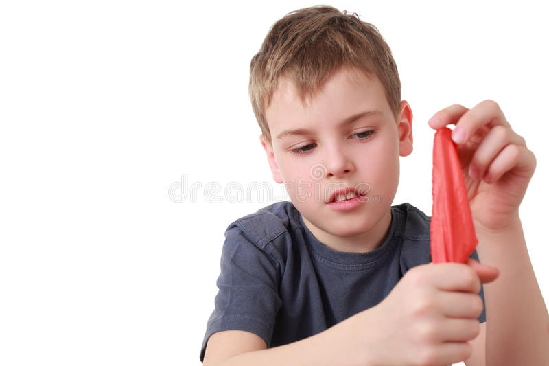 Download Boy Hides Shawl In Fist Is Focus Stock Photo - Image: 18848842