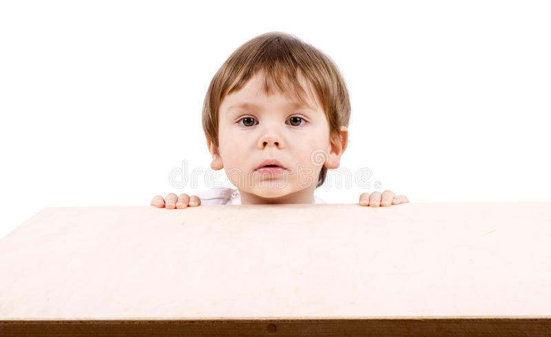 Download Boy hiding. stock image. Image of beautiful, small, beauty - 23843435