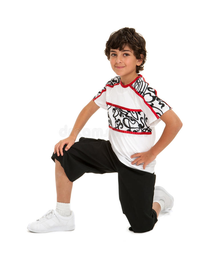 Boy with Hip Hop Attitude royalty free stock images