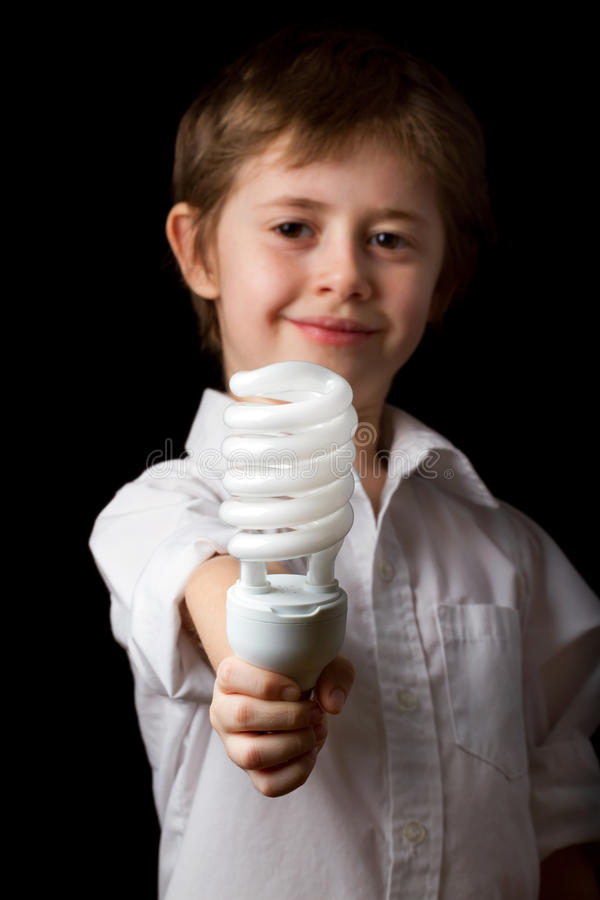 Download Energy saving lamp stock photo. Image of concepts, inspiration - 29927300