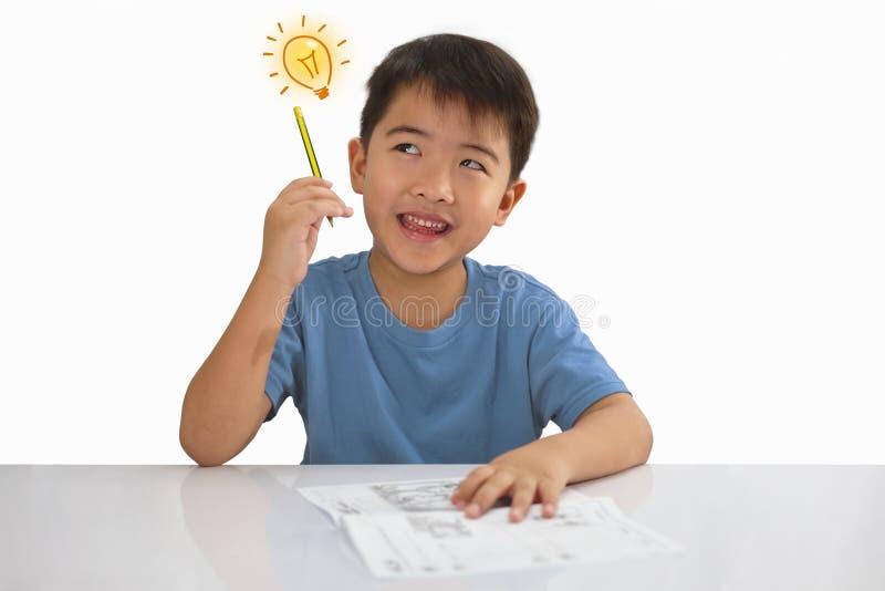Boy idea stock images