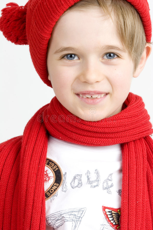 Free Boy In A Red Cap Stock Photo - 2936130