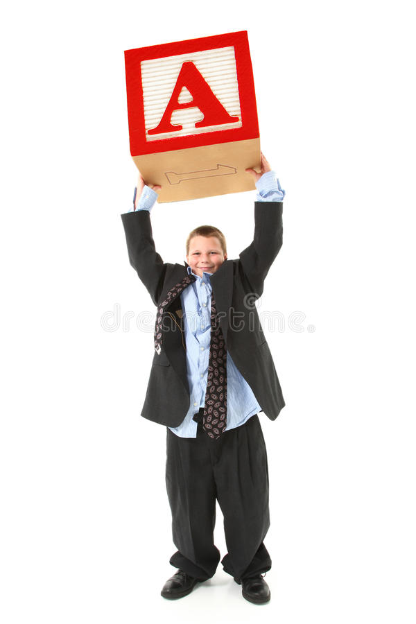 Free Boy In Big Suit Royalty Free Stock Image - 14887686