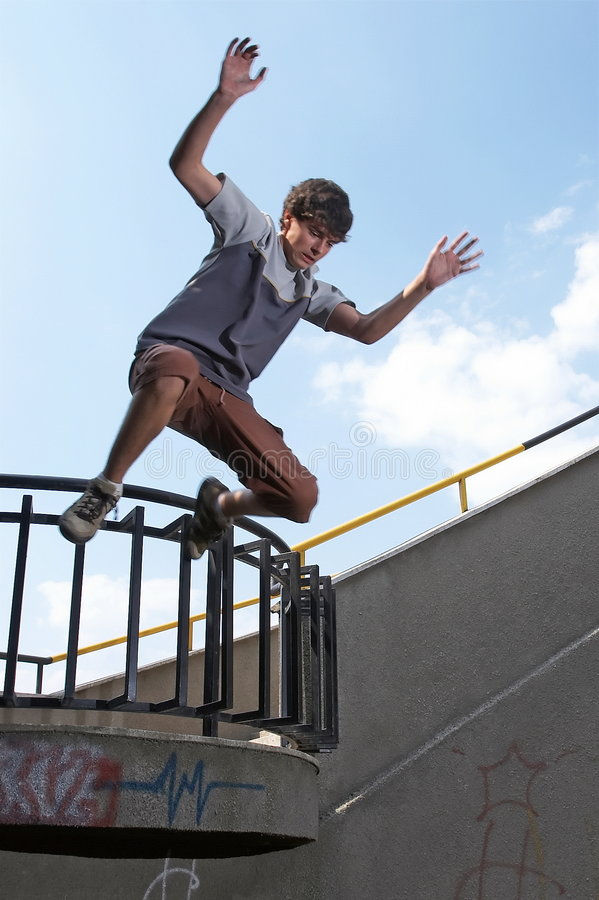 Download Boy Jumping Royalty Free Stock Image - Image: 6766246
