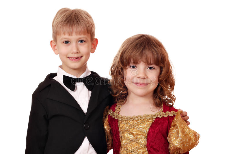 Download Boy and little girl posing stock photo. Image of friend - 24291914