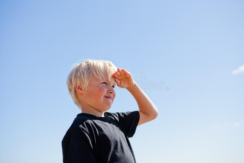 Download Boy looking stock photo. Image of freedom, outdoor, male - 26567670