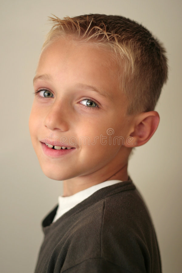 Free Boy Looking Over His Shoulder Stock Photos - 1404063