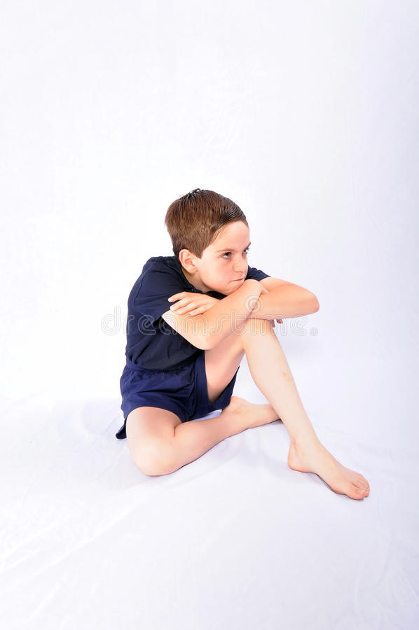 Download Boy making faces stock photo. Image of young, isolated - 10501022