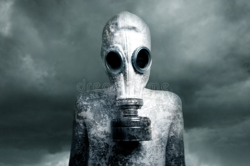 Download Boy and a mask stock photo. Image of child, steamy, chemical - 3598732