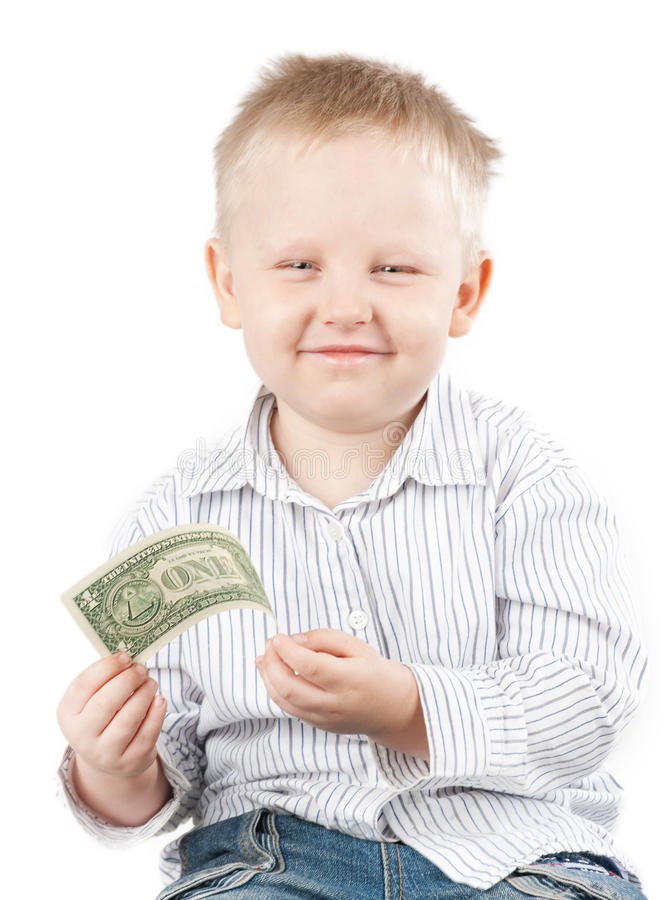 Download Boy with money stock photo. Image of human, face, excitement - 17372926