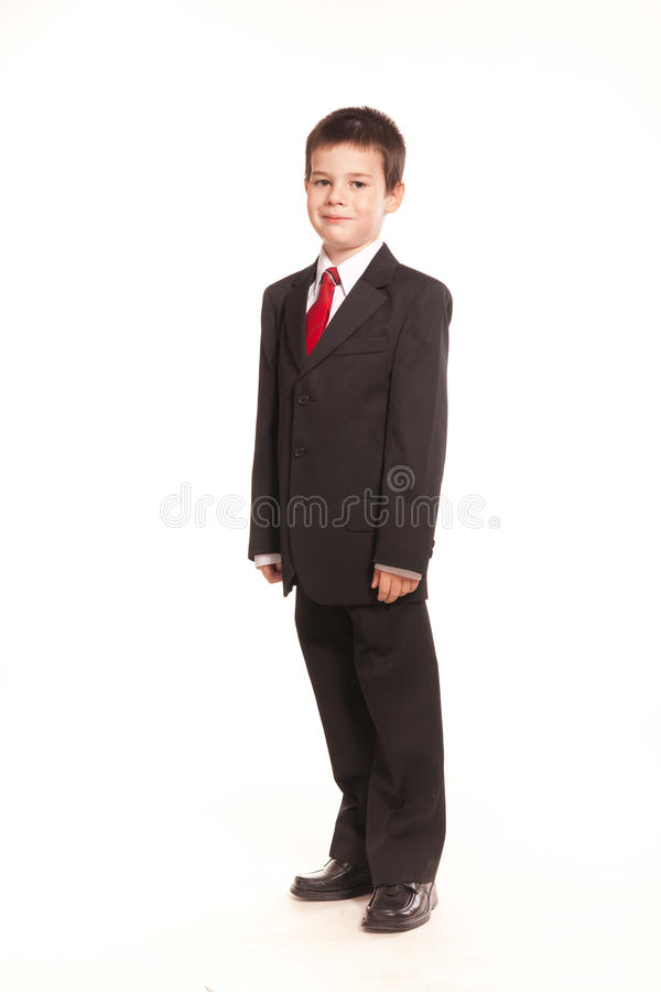 Download Boy in official dresscode stock photo. Image of business - 22351462