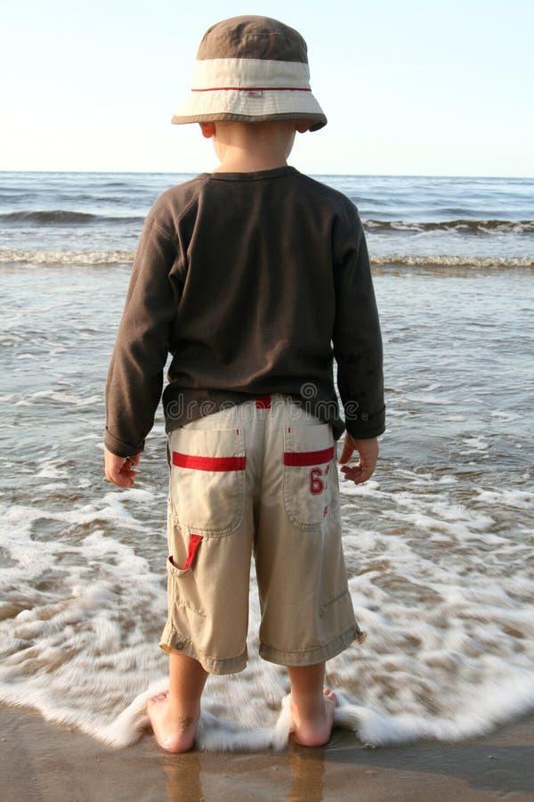 Free Boy On A Beach Stock Photos - 3233083