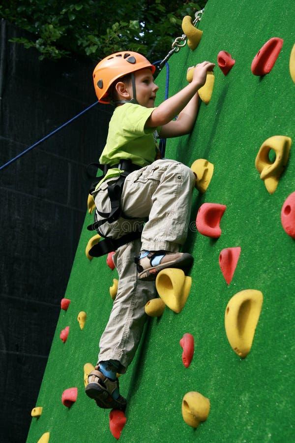 Free Boy On Climbing Wall Stock Photography - 13051552