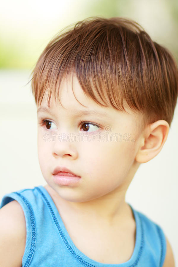 Boy outdoor stock images