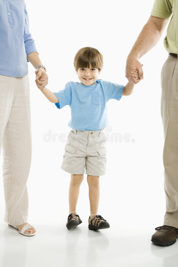Download Boy With Parents. Stock Image - Image: 2771411