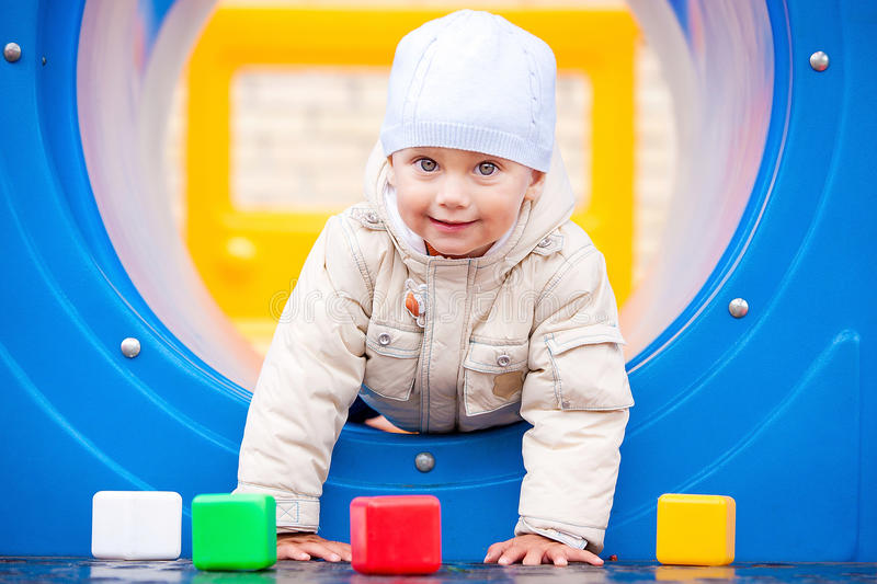 Download Boy at park stock image. Image of health, baby, future - 18078987