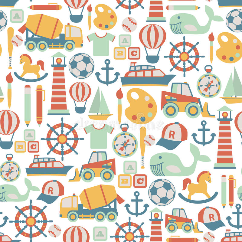 Free Boy Pattern Stock Images - 41957374