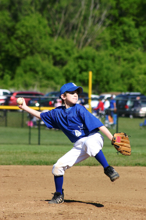 Free Boy Pitcher Royalty Free Stock Images - 1211319
